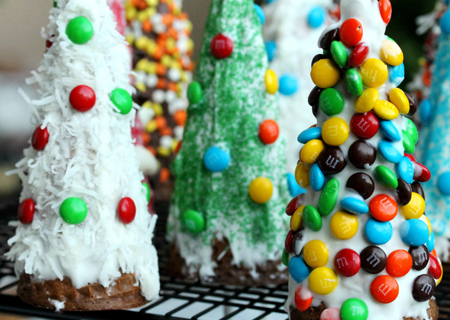 Christmas Tree Craft Ice Cream Cone : Moved permanently